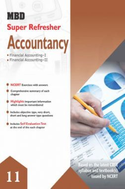 MBD Super Refresher Accountancy Class - XI For 2020 Exam