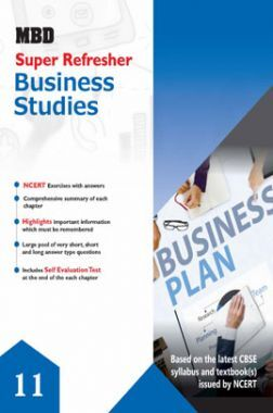 MBD Super Refresher Business Studies Class - XI For 2020 Exam