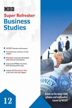 MBD Super Refresher Business Studies Class - XII For 2020 Exam