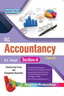 ISC Accountancy Section-A For Class - XII