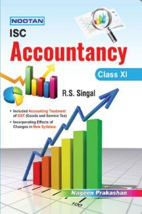 ISC Accountancy For Class - XI