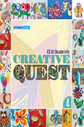 ICSE Art Education Creative Quest For Class - IV