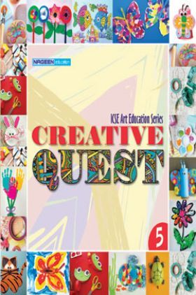 ICSE Art Education Creative Quest For Class - V