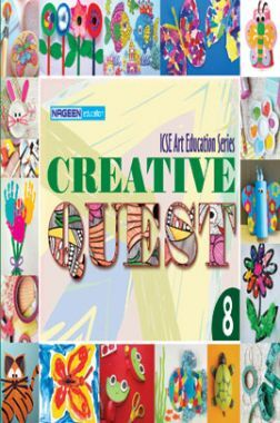 ICSE Art Education Creative Quest For Class - VIII