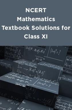 NCERT Mathematics Textbook Solutions for Class XI