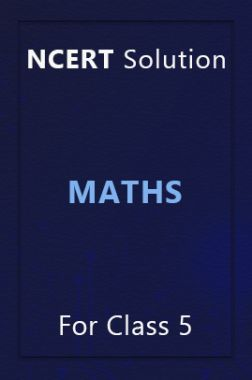 NCERT Solution For Class 5 Maths