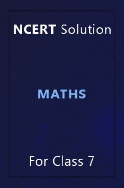 NCERT Solution For Class 7 Maths
