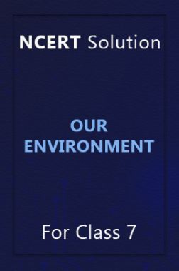 NCERT Solution For Class 7 Our Environment