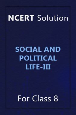 NCERT Solution For Class 8 Social And Political Life-III