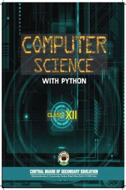 NCERT Textbook For Class 12 Computer Science Python