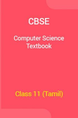 CBSE Computer Science Textbook For Class 11 (Tamil)