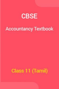 CBSE Accountancy Textbook For Class 11 (Tamil)