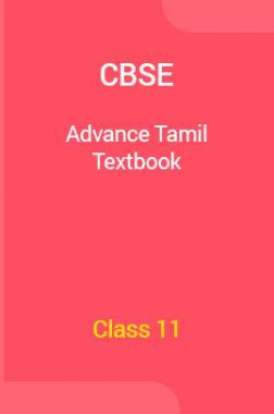 CBSE Advance Tamil  Textbook For Class 11