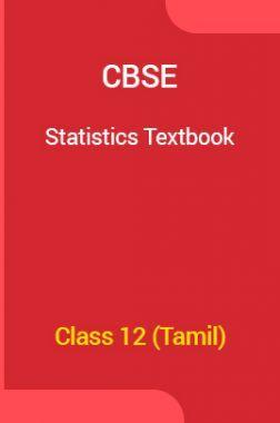 CBSE Statistics Textbook For Class 12 (Tamil)