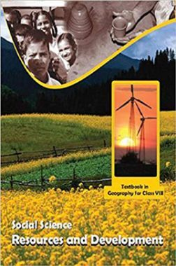 NCERT Social Science Resource And Development Textbook In Geography For Class-8