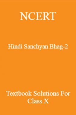 NCERT Hindi (Sanchyan) Bhag-2 Textbook Solutions For Class X