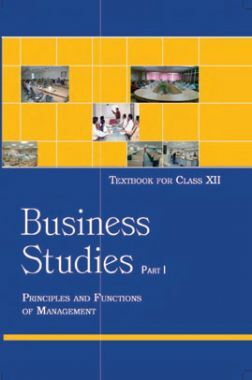 NCERT Business Studies Part-I Textbook For Class-XII
