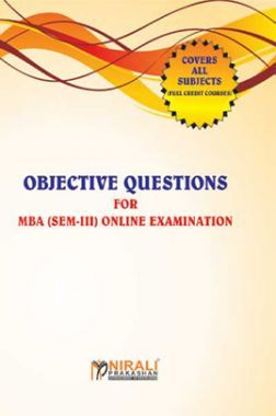 Objective Questions For MBA (Sem-III) Online Examination