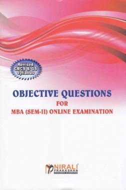 Objective Questions For MBA (Sem-II) Online Examination