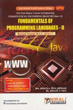 Fundamentals Of Programming Languages - II