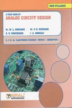 A Textbook Of Analog Circuit Design