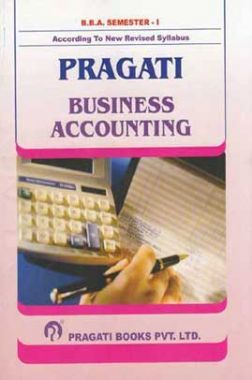 Business Accounting For BBA First Semester