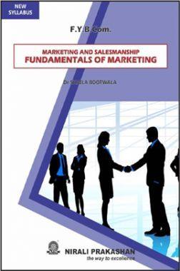 Marketing And Salesmanship Fundamentals Of Marketing
