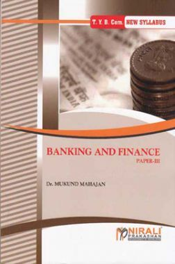 Banking And Finance Paper - III