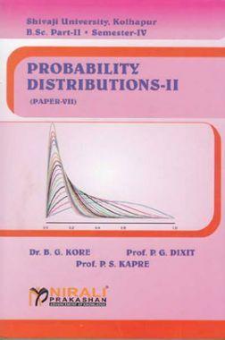 Probability Distributions - II (Statistics Paper - VII)