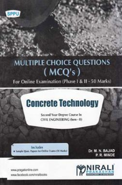 Concrete Technology (MCQ's)
