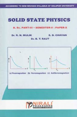 Physics Solid State Physics (Paper - VIII)
