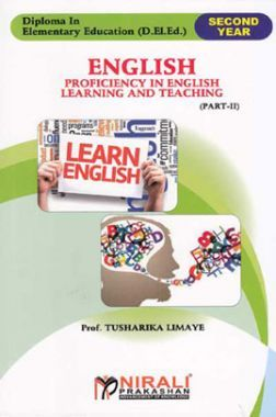 English Proficiency In English - (P-II) (S-4) Pedagogy Of English - (P-II) (S-6)