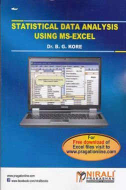 Statistical Data Analysis Using Ms-Excel