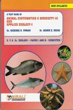 Animal Systematics And Diversity - III And Applied Zoology - I