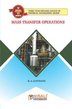 Mass Transfer Operations