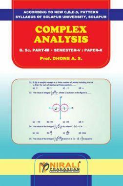 Complex Analysis Mathematics Paper - X