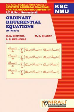 Ordinary Differential Equations Mathematics - Paper - I