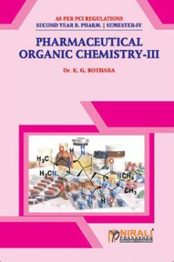 Download Pharmaceutical Organic Chemistry - III by Dr  K  G  Bothara PDF  Online