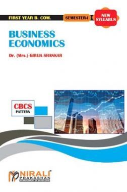 Business Economics (Micro - I)
