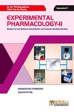 Experimental Pharmacology - II (Bridges The Gap Between Animal Models And Computer Simulation Models)
