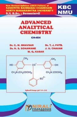 A Textbook Of Advanced Analytical Chemistry