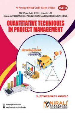Quantitative Techniques In Project Management