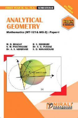 Analytical Geometry Mathematics : Paper-I