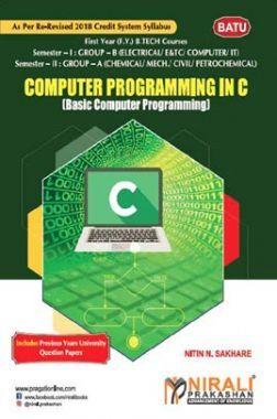 Computer  Programming In C  (Basic Computer Programming)