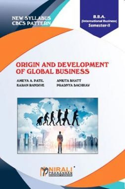 Origin And Development Of Global Business