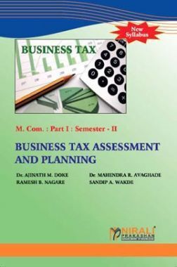 Business Tax Assessment And Planning