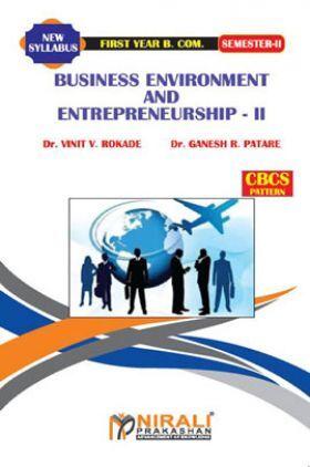 Business Environment & Entrepreneurship-II