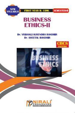 Business Ethics - II