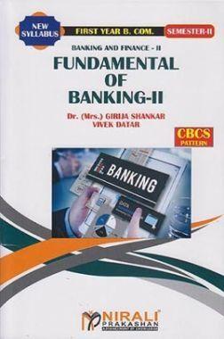 Banking And Finance - II (Fundamental Of Banking - II)