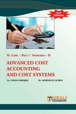 Advanced Cost Accounting And Cost Systems